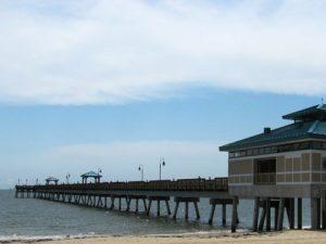 Buckroe Beach fishing pier