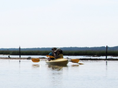 tandem recreational kayak